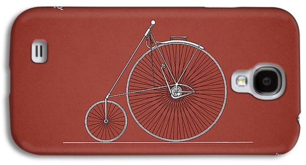 Bicycle Photographs Galaxy S4 Cases - Bicycle 1885 Galaxy S4 Case by Mark Rogan