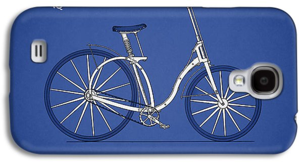 Bicycle Photographs Galaxy S4 Cases - Bicycle 1892 Galaxy S4 Case by Mark Rogan