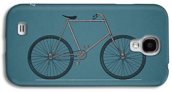 Bicycle 1896 Galaxy S4 Case by Mark Rogan