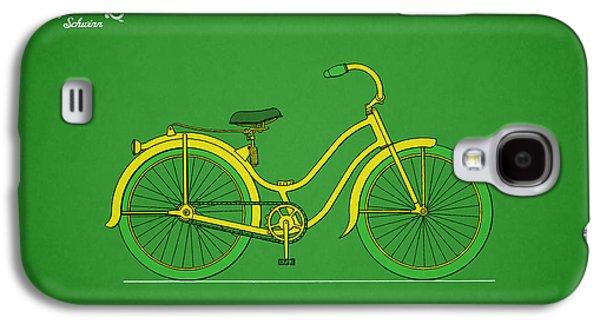 Bicycle Design 1935 Galaxy S4 Case by Mark Rogan