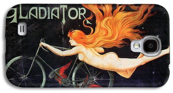 Posters Of Nudes Galaxy S4 Cases - BICYCLE POSTER, c1905 Galaxy S4 Case by Granger