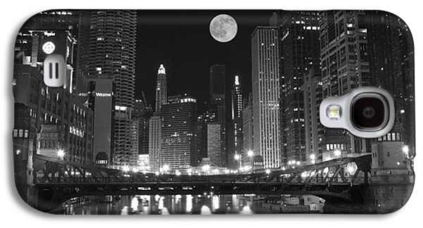 Big City Windy City Galaxy S4 Case by Frozen in Time Fine Art Photography