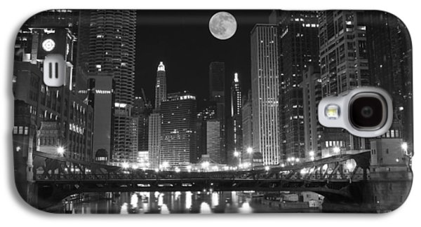 Espn Galaxy S4 Cases - Big City Windy City Galaxy S4 Case by Frozen in Time Fine Art Photography