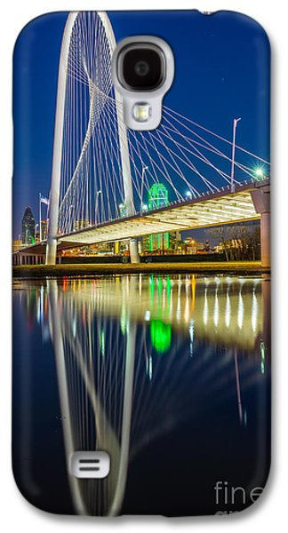 Big D By Night Galaxy S4 Case by Inge Johnsson