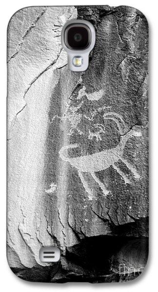 Big Horn Sheep Petroglyph 2 - Nine Mile Canyon - Utah Galaxy S4 Case by Gary Whitton