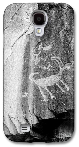 Shamanism Galaxy S4 Cases - Big Horn Sheep Petroglyph 2 - Nine Mile Canyon - Utah Galaxy S4 Case by Gary Whitton