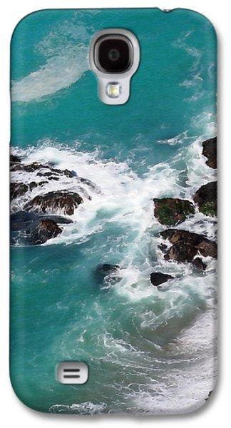 Big Sur Ca Galaxy S4 Cases - Big Sur Foam Galaxy S4 Case by Art Block Collections