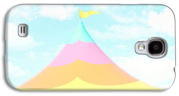 Little Boy Galaxy S4 Cases - Big Top in the Sky Galaxy S4 Case by Amy Tyler