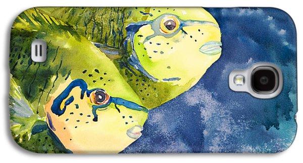 Unique View Galaxy S4 Cases - Bignose Unicornfish Galaxy S4 Case by Tanya L Haynes - Printscapes