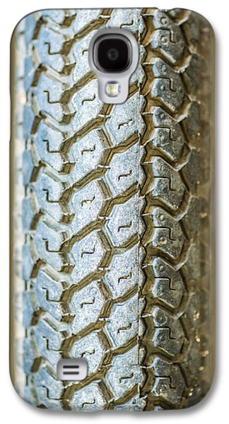 Component Photographs Galaxy S4 Cases - Bike Tire Macro Closeup Texture Background Galaxy S4 Case by Eduardo Huelin