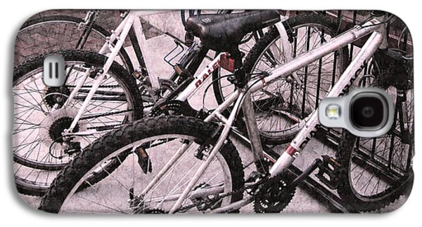Original Photographs Galaxy S4 Cases - Bikes Galaxy S4 Case by Colleen Kammerer