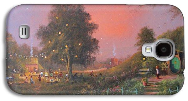 Bilbo's Eleventy-first Birthday Party Galaxy S4 Case by Joe  Gilronan