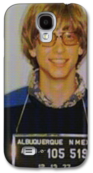 Police Paintings Galaxy S4 Cases - Bill Gates Mug shot Vertical Color Galaxy S4 Case by Tony Rubino