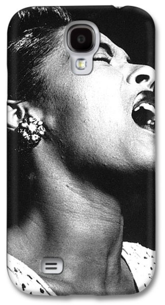 Celebrities Photographs Galaxy S4 Cases - Billie Holiday (1915-1959) Galaxy S4 Case by Granger