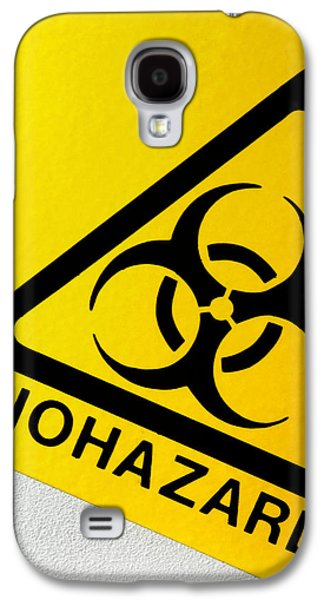 Microbiological Galaxy S4 Cases - Biohazard Symbol Galaxy S4 Case by Tim Vernon, Nhs Trust