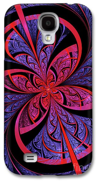 Flame Galaxy S4 Cases - Bipolar Galaxy S4 Case by John Edwards