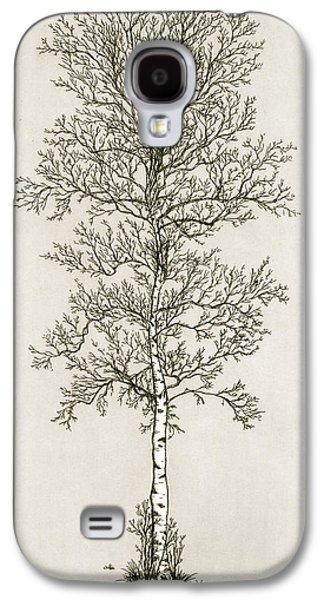 Birch Tree Galaxy S4 Case by Charles Harden