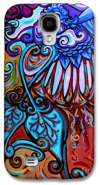 Bird Heart II Galaxy S4 Case by Genevieve Esson