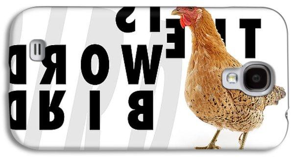 Animals Digital Galaxy S4 Cases - Bird Is The Word Galaxy S4 Case by TC Morgan