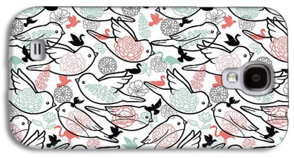 Bird Solid Galaxy S4 Case by Elizabeth Taylor