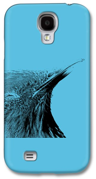 Feather Drawings Galaxy S4 Cases - Bird Transparent Background Galaxy S4 Case by Edward Fielding