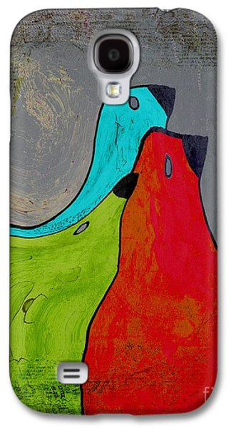 Birdies - V110b Galaxy S4 Case by Variance Collections