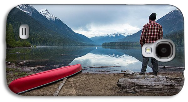 Beach Landscape Galaxy S4 Cases - Birkenhead Lake View Galaxy S4 Case by James Wheeler