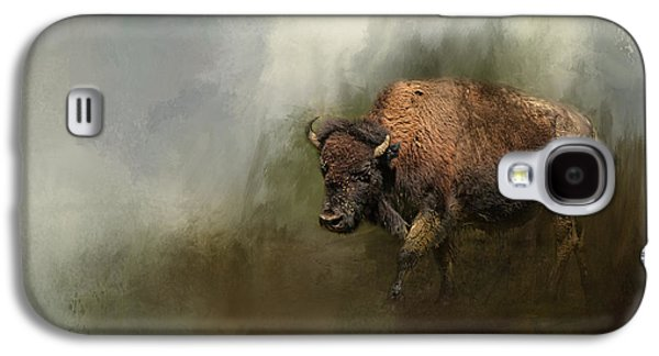 Landmarks Photographs Galaxy S4 Cases - Bison After The Mud Bath Galaxy S4 Case by Jai Johnson