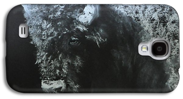 Bison Pastels Galaxy S4 Cases - Bison Galaxy S4 Case by Deb Gengler