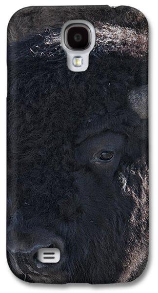 Bison Digital Galaxy S4 Cases - Bison Portrait Galaxy S4 Case by Bettie Towner
