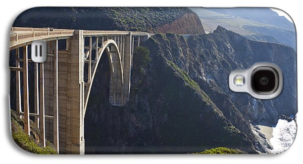 Bixby Bridge Galaxy S4 Cases - Bixby Bridge Crossing a Chasm Galaxy S4 Case by David Buffington