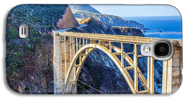 Bixby Bridge Galaxy S4 Cases - Bixby Bridge Galaxy S4 Case by Joseph S Giacalone