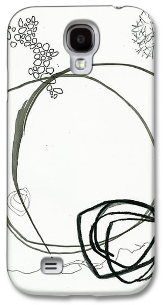 Drawing Galaxy S4 Cases - Black and White # 13 Galaxy S4 Case by Jane Davies