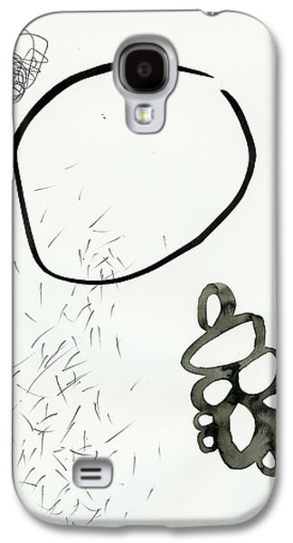 Drawing Paintings Galaxy S4 Cases - Black and White # 19 Galaxy S4 Case by Jane Davies