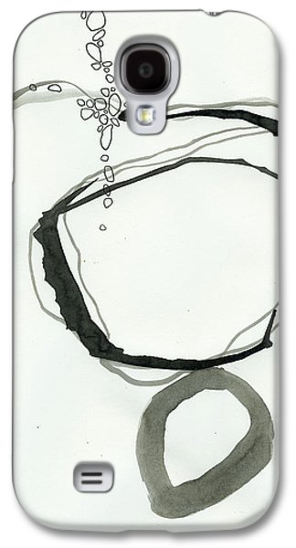 Drawing Galaxy S4 Cases - Black and White # 22 Galaxy S4 Case by Jane Davies