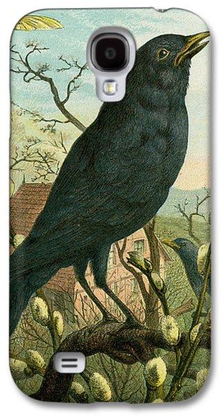 Black Bird Galaxy S4 Case by English School