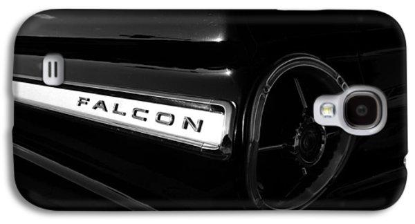 Black Falcon Galaxy S4 Case by David Lee Thompson