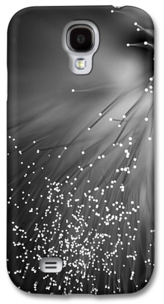 Abstract Digital Photographs Galaxy S4 Cases - Black Night Galaxy S4 Case by Dazzle Zazz