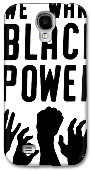 Liberation Galaxy S4 Cases - Black Power, 1967 Galaxy S4 Case by Granger