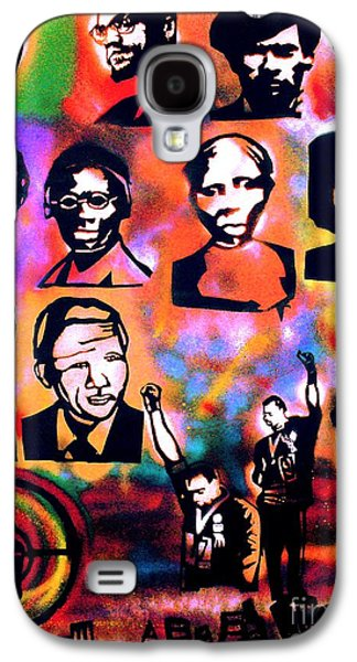 Black Revolution Galaxy S4 Case by Tony B Conscious