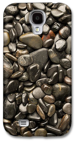 Studio Photographs Galaxy S4 Cases - Black River Stones Portrait Galaxy S4 Case by Steve Gadomski