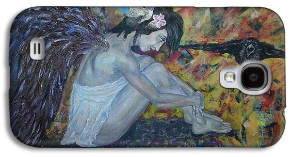 Creative Blackbird Galaxy S4 Cases - Blackbird Galaxy S4 Case by Edward Tomilov