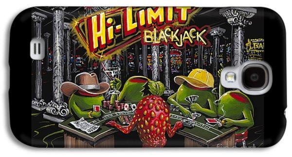 Blackjack Pimps Galaxy S4 Case by Michael Godard