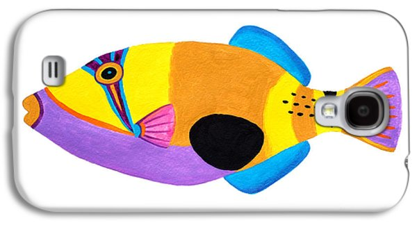 Blackpatch Triggerfish  Galaxy S4 Case by Opas Chotiphantawanon