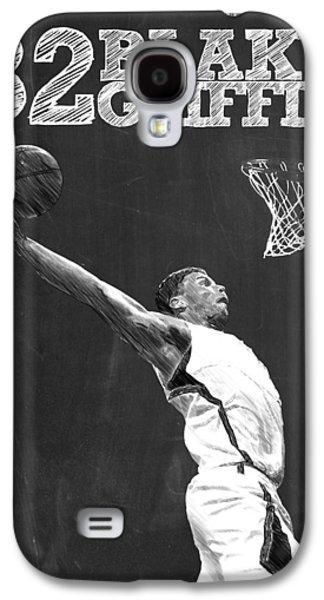 Black Mamba Galaxy S4 Cases - Blake Griffin Galaxy S4 Case by Semih Yurdabak