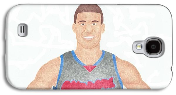 Slam Galaxy S4 Cases - Blake Griffin Galaxy S4 Case by Toni Jaso