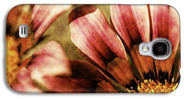 Blanket Galaxy S4 Cases - Blanket Flowers Galaxy S4 Case by Bonnie Bruno