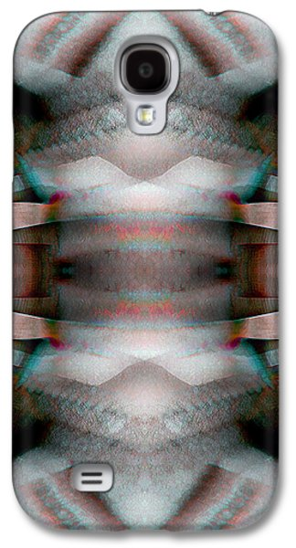 Recently Sold -  - Abstract Digital Digital Galaxy S4 Cases - Blanket_0025 Galaxy S4 Case by Alex McDonell