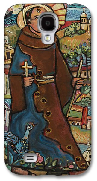 Blessed Junipero Serra Galaxy S4 Case by Jen Norton