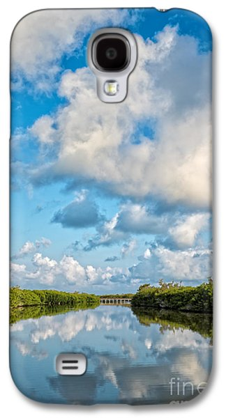 Blind Pass Bowman Beach Sanibel Florida Galaxy S4 Case by Edward Fielding